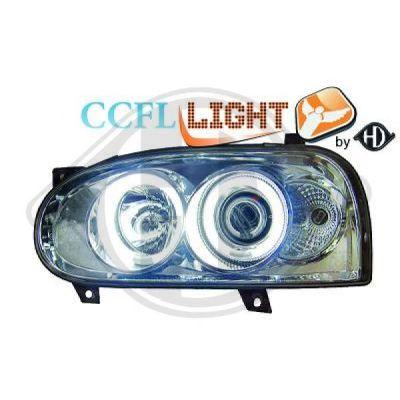 Bloc-optique, projecteurs principaux - HDK-Germany - 77HDK2212181