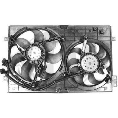 Ventilateur, refroidissement du moteur - Diederichs Germany - 2213001