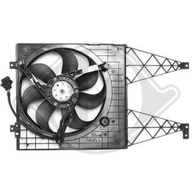 Ventilateur, refroidissement du moteur - Diederichs Germany - 2213101