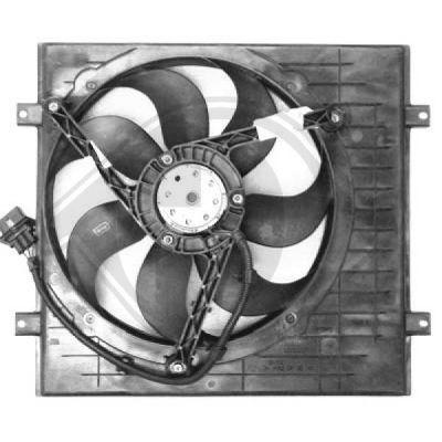 Ventilateur, refroidissement du moteur - Diederichs Germany - 2213201