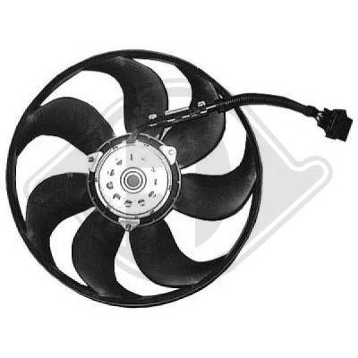 Ventilateur, refroidissement du moteur - Diederichs Germany - 2213202
