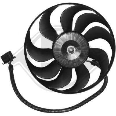 Ventilateur, refroidissement du moteur - Diederichs Germany - 2213301