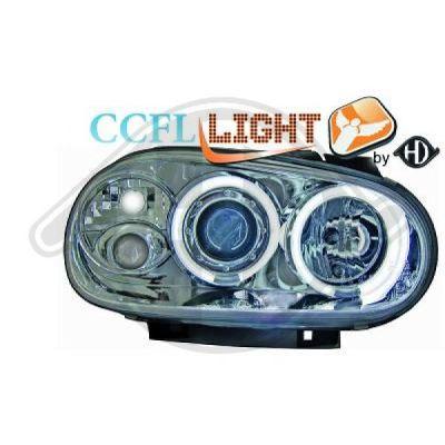 Bloc-optique, projecteurs principaux - HDK-Germany - 77HDK2213881