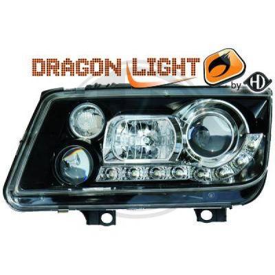 Bloc-optique, projecteurs principaux - HDK-Germany - 77HDK2231685