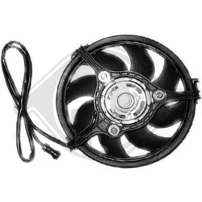 Ventilateur, refroidissement du moteur - HDK-Germany - 77HDK2245001