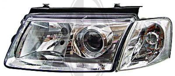 Bloc-optique, projecteurs principaux - Diederichs Germany - 2245180