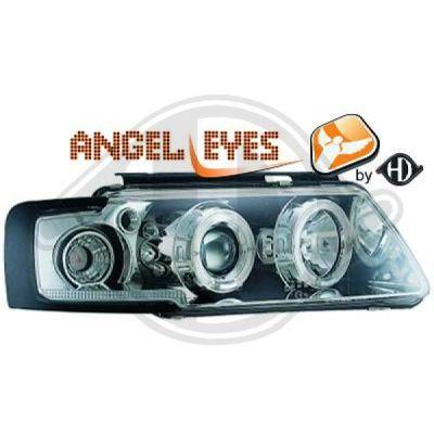 Bloc-optique, projecteurs principaux - Diederichs Germany - 2245380