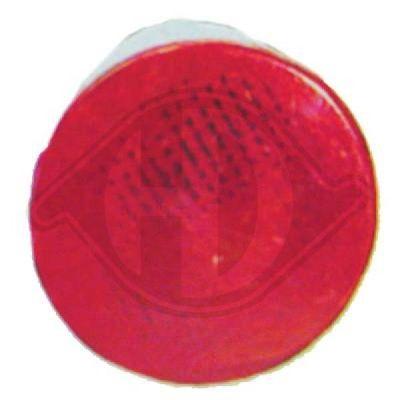 Feu antibrouillard arrière - Diederichs Germany - 2265095