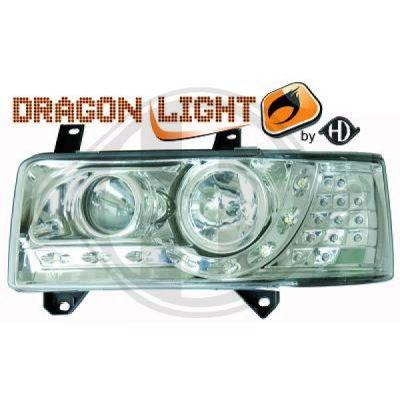 Bloc-optique, projecteurs principaux - HDK-Germany - 77HDK2270585