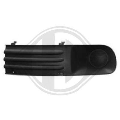 Grille de ventilation, pare-chocs - Diederichs Germany - 2272247