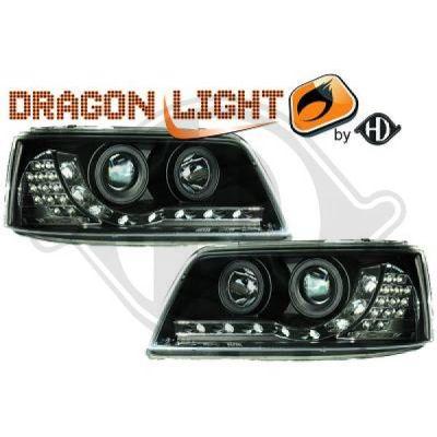Bloc-optique, projecteurs principaux - HDK-Germany - 77HDK2272485