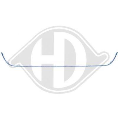 Baguette et bande protectrice, grille de radiateur - Diederichs Germany - 2275041