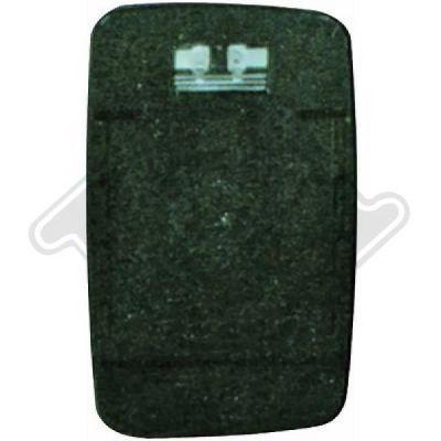 Verre de rétroviseur, rétroviseur extérieur - HDK-Germany - 77HDK2280026