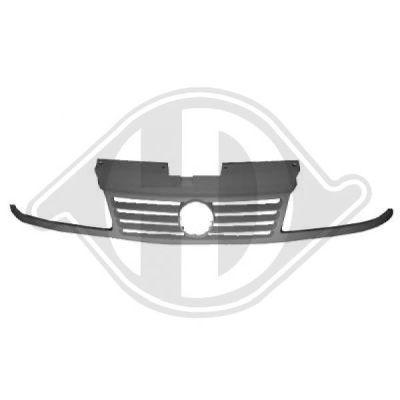 Grille de radiateur - Diederichs Germany - 2290040