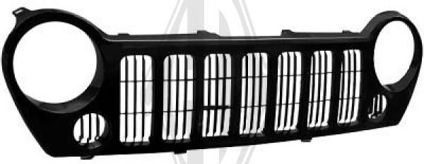 Grille de radiateur - HDK-Germany - 77HDK2601040