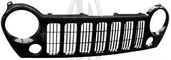 Grille de radiateur - Diederichs Germany - 2601041