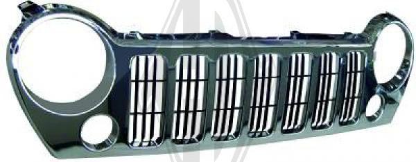 Grille de radiateur - HDK-Germany - 77HDK2601042