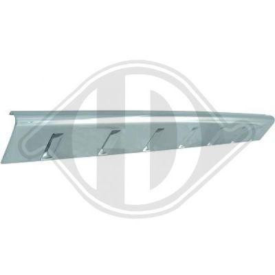 Baguette et bande protectrice, grille de radiateur - Diederichs Germany - 2602061