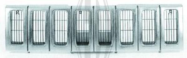 Grille de radiateur - HDK-Germany - 77HDK2611040