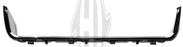 Cadre, grille de radiateur - Diederichs Germany - 2612360
