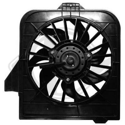 Ventilateur, refroidissement du moteur - Diederichs Germany - 2622001
