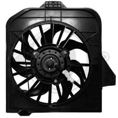 Ventilateur, refroidissement du moteur - Diederichs Germany - 2622101
