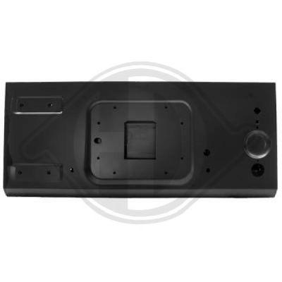 Couvercle de coffre à bagages/de compartiment de chargement - HDK-Germany - 77HDK2676029