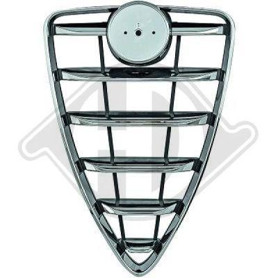 Grille de ventilation, pare-chocs - Diederichs Germany - 3005040