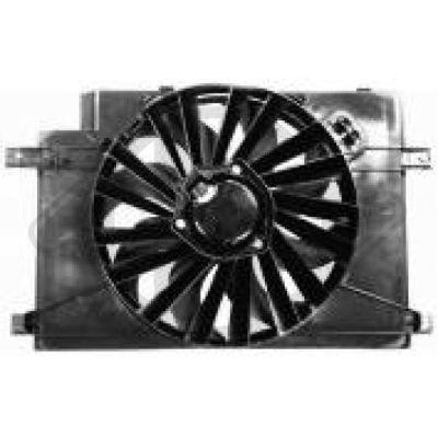 Ventilateur, refroidissement du moteur - Diederichs Germany - 3041101