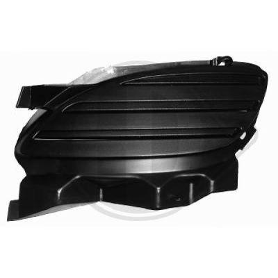 Grille de ventilation, pare-chocs - Diederichs Germany - 3212147