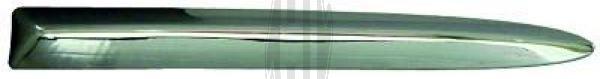 Baguette et bande protectrice, grille de radiateur - Diederichs Germany - 3405042
