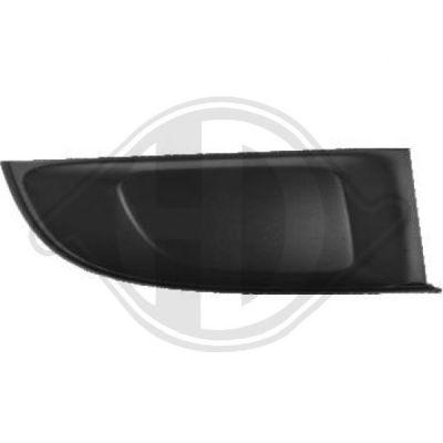 Grille de ventilation, pare-chocs - HDK-Germany - 77HDK3405047