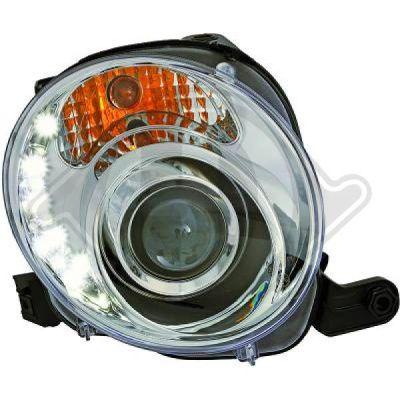 Bloc-optique, projecteurs principaux - Diederichs Germany - 3405285