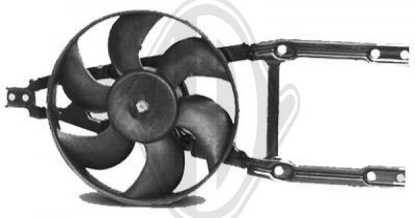 Ventilateur, refroidissement du moteur - Diederichs Germany - 3433001