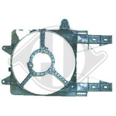 Déflecteur d'air de ventilateur - HDK-Germany - 77HDK3452042