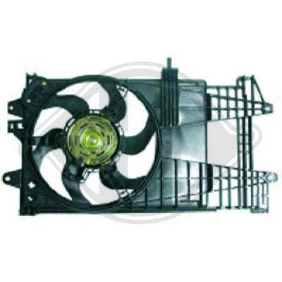 Ventilateur, refroidissement du moteur - HDK-Germany - 77HDK3454101