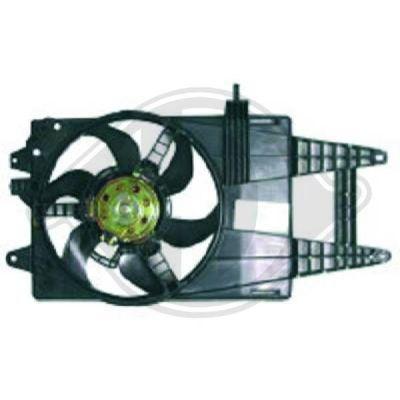 Ventilateur, refroidissement du moteur - Diederichs Germany - 3454201