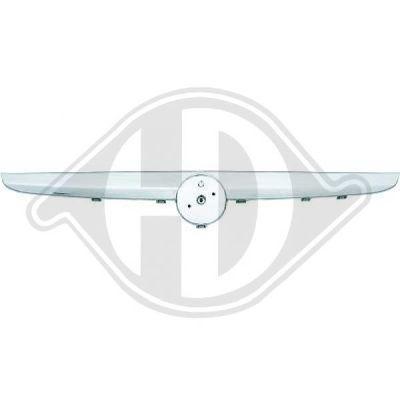 Baguette et bande protectrice, grille de radiateur - Diederichs Germany - 3457040