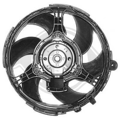 Ventilateur, refroidissement du moteur - HDK-Germany - 77HDK3462001