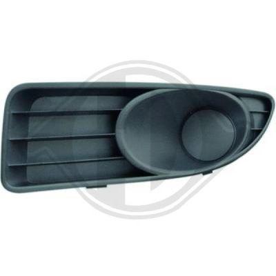 Grille de ventilation, pare-chocs - Diederichs Germany - 3463443