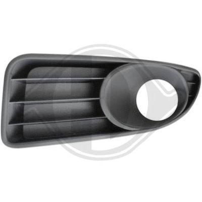 Grille de ventilation, pare-chocs - Diederichs Germany - 3463445