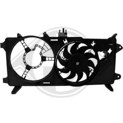 Ventilateur, refroidissement du moteur - Diederichs Germany - 3485117