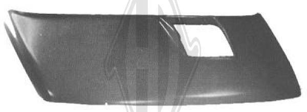 Capot-moteur - Diederichs Germany - 3490000