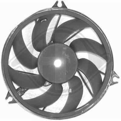 Ventilateur, refroidissement du moteur - Diederichs Germany - 4225001
