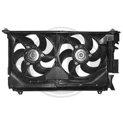 Ventilateur, refroidissement du moteur - Diederichs Germany - 4233001