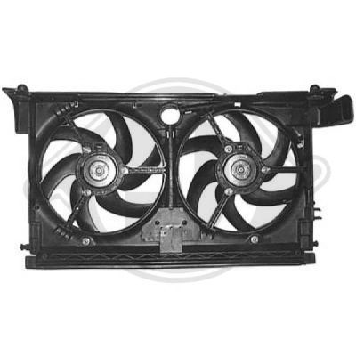 Ventilateur, refroidissement du moteur - Diederichs Germany - 4242001