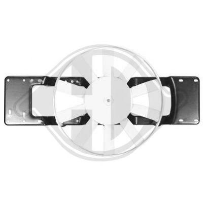 Ventilateur, refroidissement du moteur - Diederichs Germany - 4412201