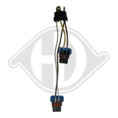 Kit adaptateur, phare - HDK-Germany - 77HDK4413087