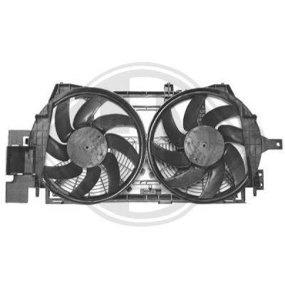 Ventilateur, refroidissement du moteur - Diederichs Germany - 4472001
