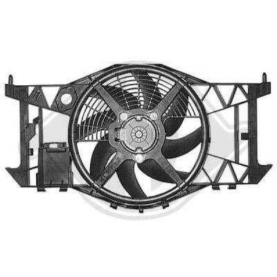 Ventilateur, refroidissement du moteur - HDK-Germany - 77HDK4472102